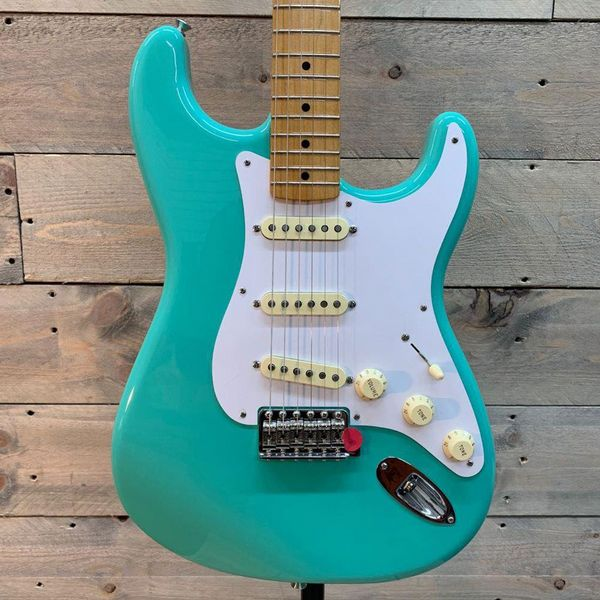Fender Vintera 50's Stratocaster Maple Neck MN Sea Foam Green
